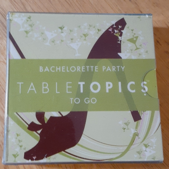 Bachelorette Party card game